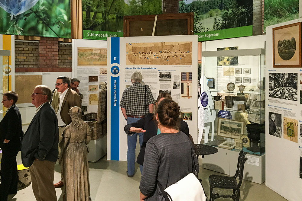 Ausstellung Museum Pankow Natur entdecken © Siegbert Mattheis